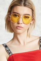 Forever 21 Tinted Aviator Sunglasses