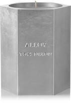 Tom Dixon Alloy Medium Scented Candle - Silver