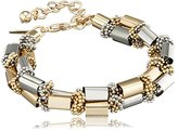 Coast Women's Gold Lucia Block Bar Bracelet of Length 21cm