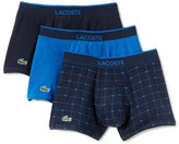 Lacoste Stretch Cotton Trunks - Pack of 3