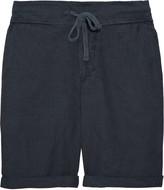 James Perse Textured cotton-blend shorts