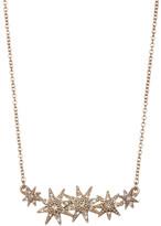 Jenny Packham Crystal Pave Star Pendant Necklace