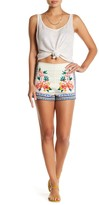 Flying Tomato Floral Border Short