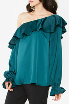 Sugar Lips Romanie One-Shoulder Top