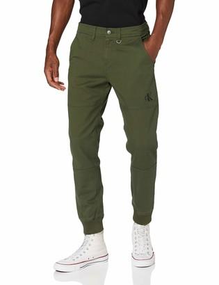 Calvin Klein Jeans Men's Slim Cuffed Chino Pant