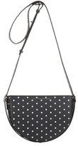 Victoria Beckham Baby Half Moon Polka-dot Shoulder Bag