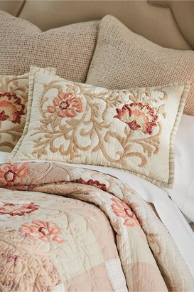 Hampshire Embroidered Patchwork Sham