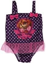 "Paw Patrol Little Girls' Toddler ""Portrait Pup"" 1-Piece Swimsuit"