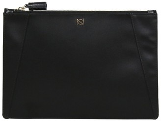 Neely & Chloe The Flat Leather Clutch