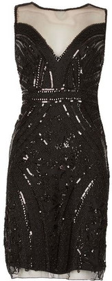 Izabel Sheer Top Sequin Dress
