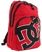 DC Kids - Dodgy Backpack (Deep Red) - Bags and Luggage