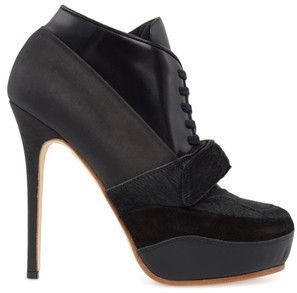 Acne Studios Ace Leather Lace Up Bootie
