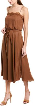 Vince Lace-Trim Cami Dress