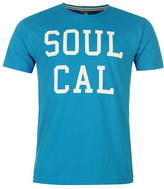 Soul Cal SoulCal Logo T Shirt Mens