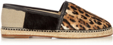 Dolce & Gabbana Leopard-print calf-hair espadrilles