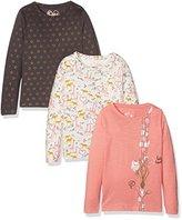 Mothercare Girl'siraffe - 3 Pack T - Shirt,(Manufacturer Size:98)