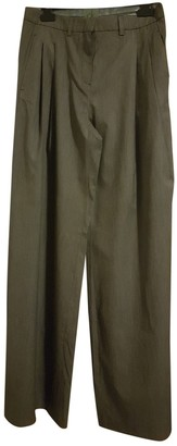 Calvin Klein Grey Polyester Trousers