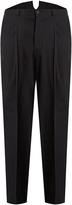 Bottega Veneta Wide-leg wool-twill trousers