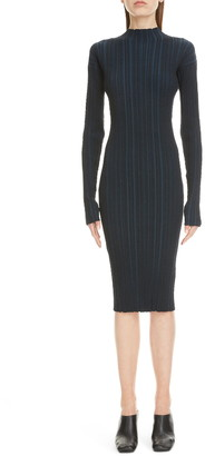Acne Studios Kaisa Ribbed Long Sleeve Dress