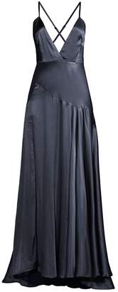 Fame & Partners Peony Strappy Evening Gown