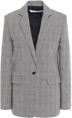 IRO Symi Prince Of Wales Checked Cotton-blend Blazer