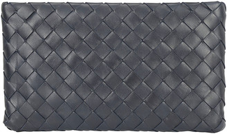 Bottega Veneta Intrecciato Weave Clutch Bag