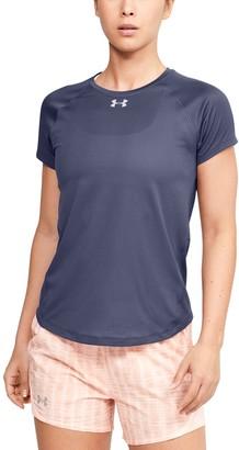 Under Armour Women's UA Qualifier HexDelta Short Sleeve