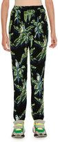Stella McCartney Tropical-Print Skinny Pants
