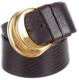 Donna Karan Wide Waist Belt