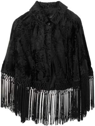 A.N.G.E.L.O. Vintage Cult fringed cape jacket