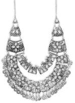 Saks Fifth Avenue Embellished Bib Necklace