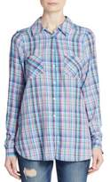 Joie Aidan Plaid Shirt
