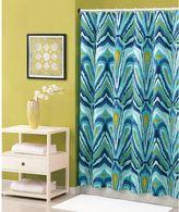 Trina Turk 72-Inch x 72-Inch Shower Curtain in Blue Peacock