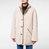 Paul Smith Women's Faux Shearling-Sheepskin Reversible Coat