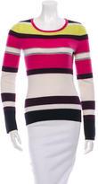 Diane von Furstenberg Cashmere Striped Sweater