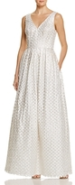 JS Collections Eyelet Gown