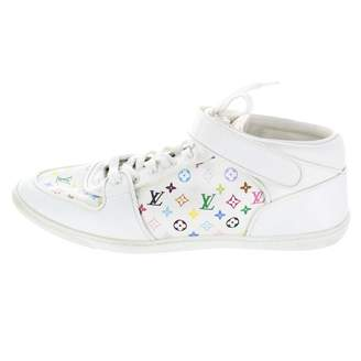 Louis Vuitton White Leather Trainers