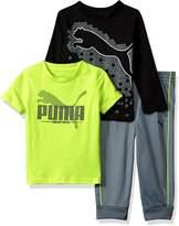 Puma Toddler Boy's Boys' Three Piece T-shirt and Pant Set Pants
