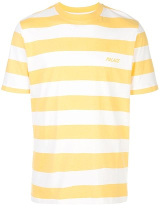 Palace striped logo print T-shirt