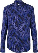 Versace printed shirt - men - Cotton/Spandex/Elastane - 41