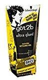 Got2b Ultra Glued Invincible Styling Gel 6 oz