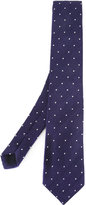 Gieves & Hawkes dots pattern tie