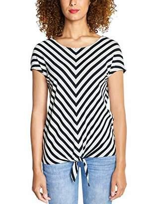 Street One Women's 313976 Ramona T-Shirt, Multicolour (Neo Grey 217), (Size: )