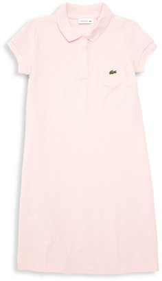 Lacoste Little Girl's & Girl's Cotton Pique Polo Dress