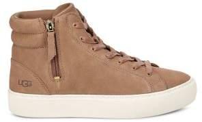 UGG Olli Leather High-Top Sneakers