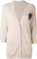 Brunello Cucinelli embroidered cardigan - women - Cashmere - XS