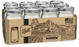 Ball Smooth Sided 12ct Canning Jar