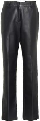 Loewe Straight leather pants