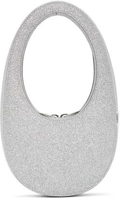 Coperni Silver Mini Swipe Bag