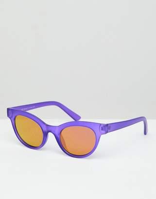 A. J. Morgan Aj Morgan AJ Morgan round sunglasses in matte purple